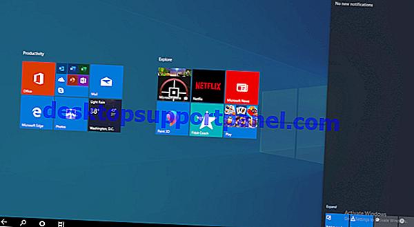 Windows 10設定アプリで非表示の「共有オプション」ページを有効にする