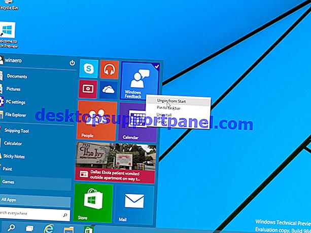 Fix: Fixierte angeheftete Ordner können nicht aus dem Windows 7-Startmenü entfernt werden