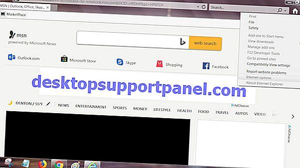 Зарегистрируйте Internet Explorer (InPrivate) в программах по умолчанию в Windows 7 и Vista
