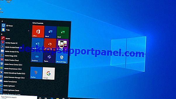 Épingler des raccourcis de site Web à l'écran de démarrage de Windows 10