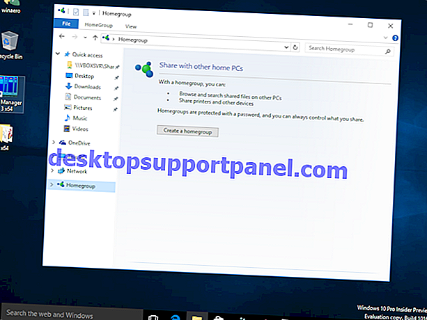 Cara Menghapus Ikon Homegroup dari Desktop di Windows