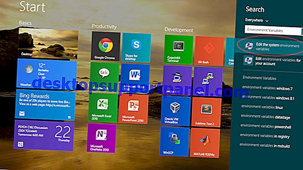 Cara Menetapkan Pembolehubah Persekitaran Pengguna Menggunakan Setx pada Windows 10