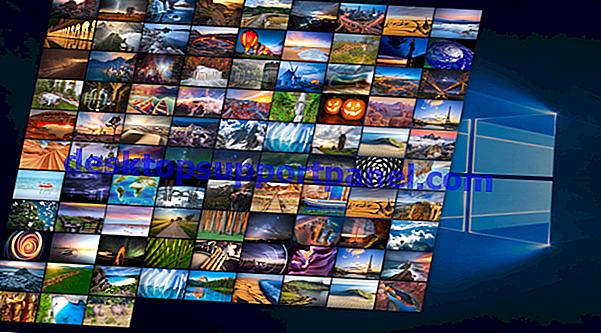 Hur man använder Windows Spotlight som bildspel på skrivbordsunderlägg