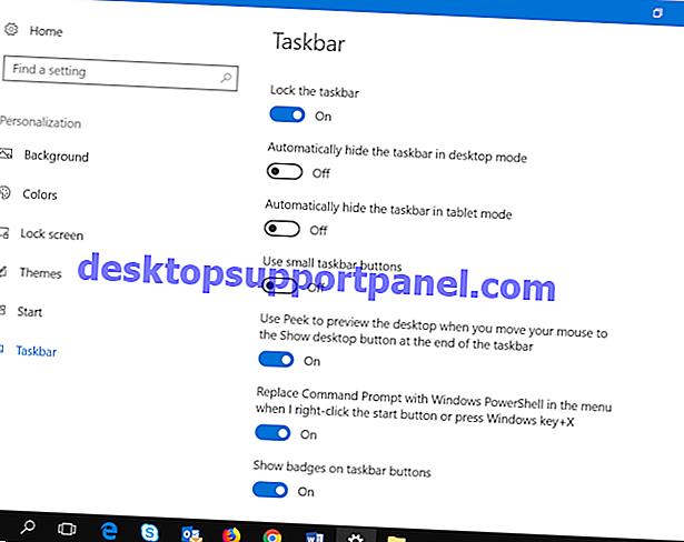 Cara Mengatur Ulang Pengaturan Bilah Tugas ke Default Windows