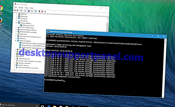 Wie kann ich Gerätetreiber in Windows 10 sichern und wiederherstellen?