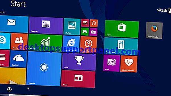 Desktop-Symbole wurden plötzlich in den Kachel-Ansichtsmodus geändert