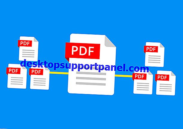 複数のPDFファイルを1つのPDFに結合またはマージする方法