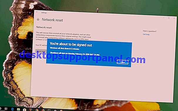 """Reset Jaringan"" Windows 10 Memperbaiki Masalah Konektivitas Internet"